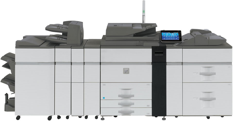 Sharp MX-M1204 Mono Production MFP Copier